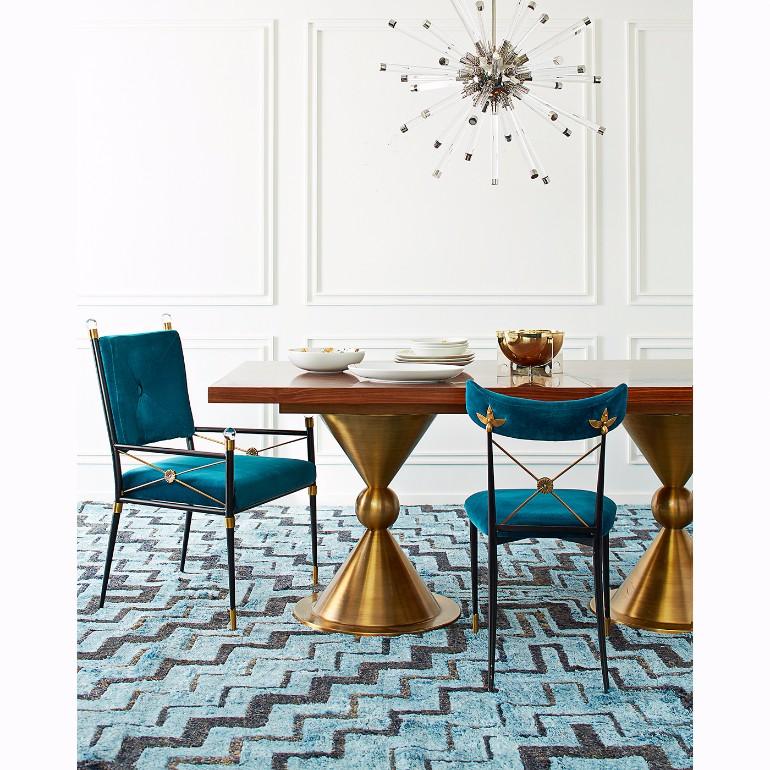 10 Velvet Dining Room Chairs That You'll Covet 8