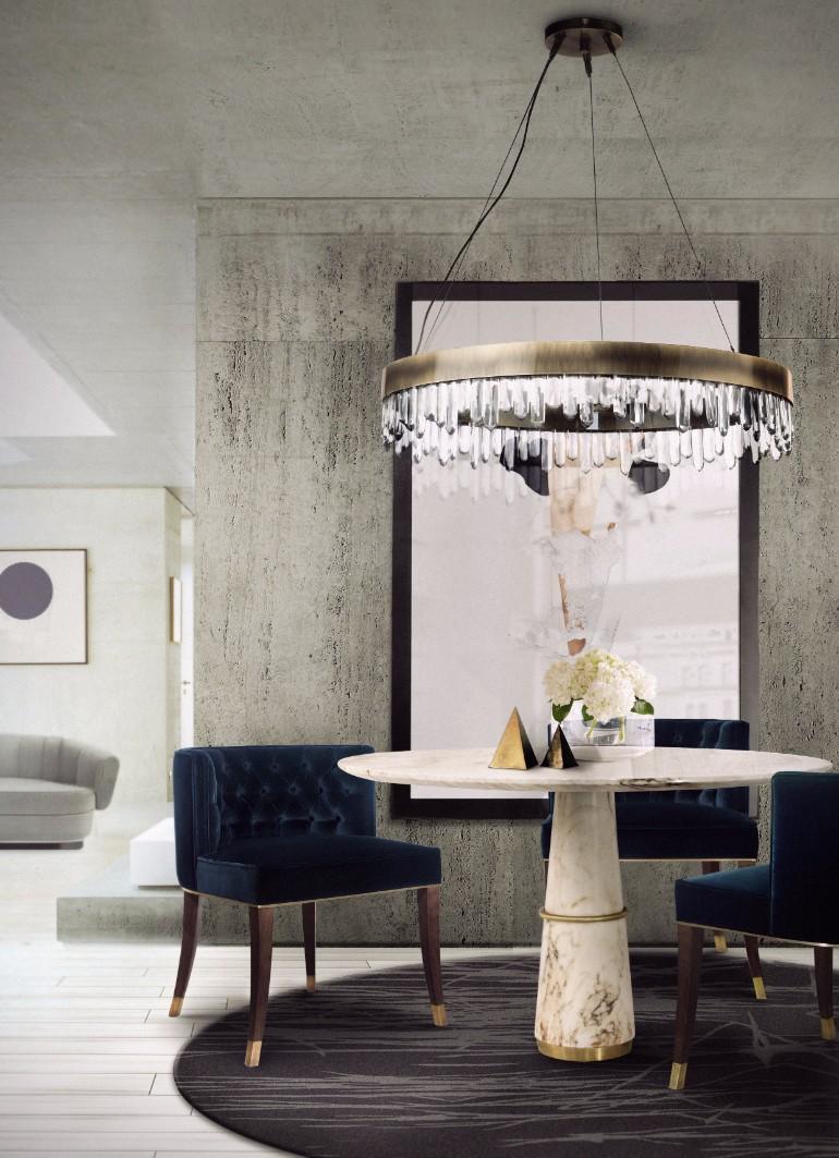 10 Velvet Dining Room Chairs That You'll Covet