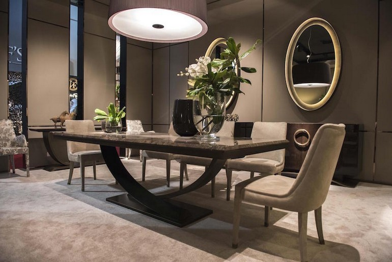 8 Dark Dining Tables For A Chic & Modern Dining Room dark dining tables 8 Dark Dining Tables For A Chic & Modern Dining Room 15 modern dining tables from top luxury furniture brands Hugues Chevalier Dining Table