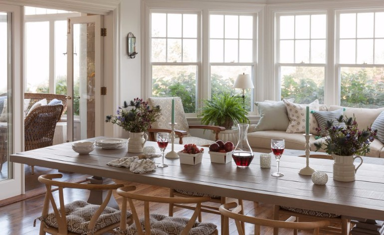 20 Light-Filled Dining Room Designs To Inspire Yourself 1