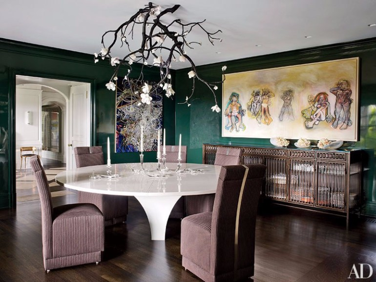 6 Incredible Dining Room Chandeliers by AD 4 dining room chandeliers 6 Incredible Dining Room Chandeliers In Architectural Digest 6 Incredible Dining Room Chandeliers by AD 4