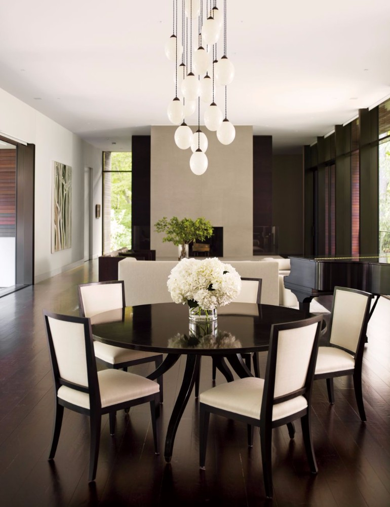 6 Incredible Dining Room Chandeliers In Architectural Digest Dining Room Ideas