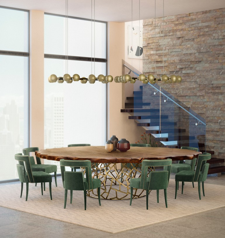 dining room tables 5 Dining Room Tables To Use in a Luxury Set brabbu ambience press 86 HR