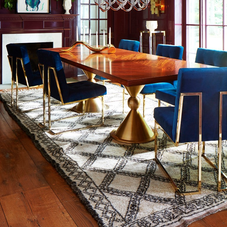 A Roundup Of The Best Dining Room Ideas On The Blog dining room ideas A Roundup Of The Best Dining Room Ideas On The Blog 7 Stylish Blue Dining Room Chairs That You Will Covet 4