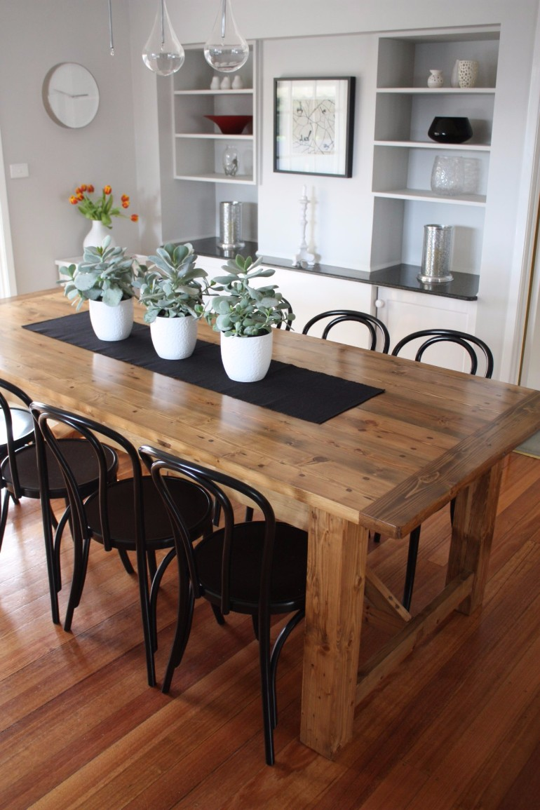 A Roundup Of The Best Dining Room Ideas On The Blog dining room ideas A Roundup Of The Best Dining Room Ideas On The Blog 7 Wooden Dining Room Tables That Steal The Show 7