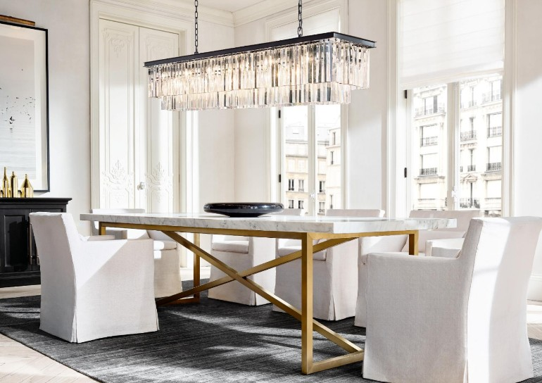 A Roundup Of The Best Dining Room Ideas On The Blog dining room ideas A Roundup Of The Best Dining Room Ideas On The Blog The Most Sophisticated Dining Room Furniture By Restoration Hardware 10