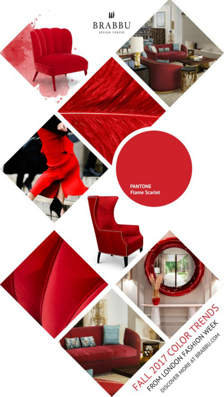 9 Elegant Dining Room Colors That Will Trend This Fall dining room colors 9 Elegant Dining Room Colors That Will Trend This Fall flame scarlet