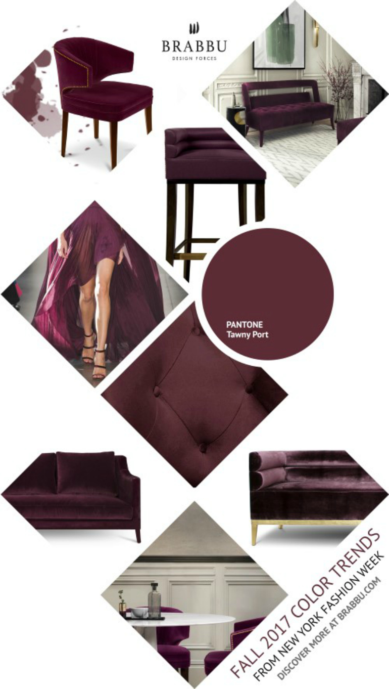 9 Elegant Dining Room Colors That Will Trend This Fall dining room colors 9 Elegant Dining Room Colors That Will Trend This Fall tawny port