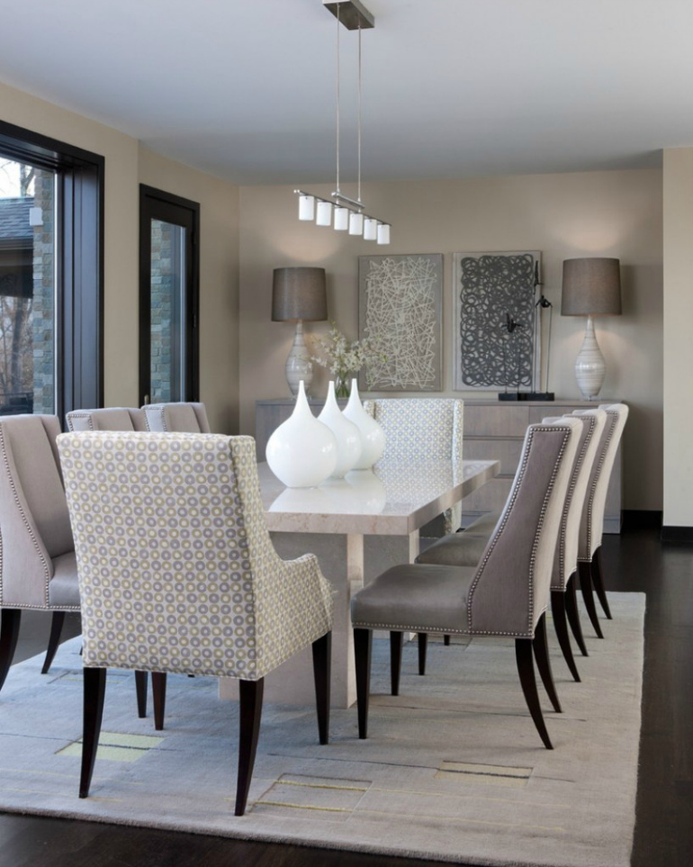 dining room design How To Create A Chic Neutral Dining Room Design How To Create A Chic Neutral Dining Room Design 5
