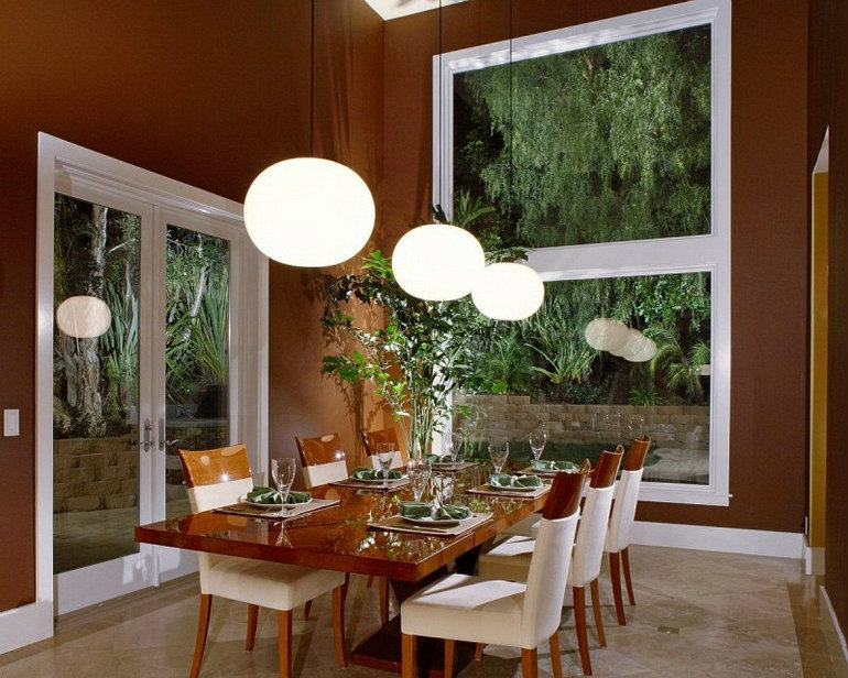 lighting ideas  lighting ideas Charming Lighting Ideas for Dining Rooms dining room ideas