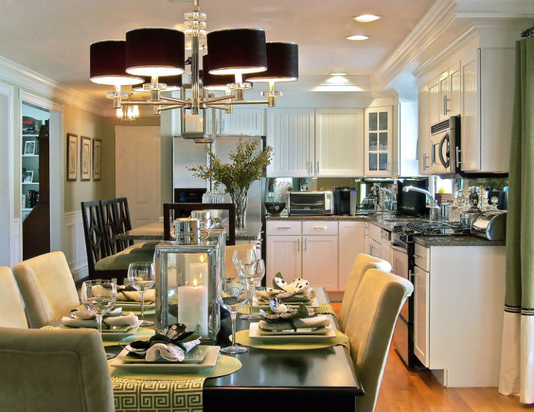 Modern Decorating Ideas Best For Small Dining Rooms Room Apartment