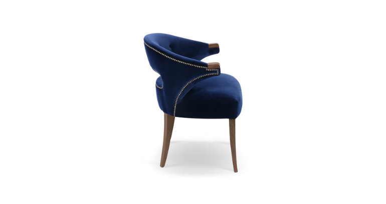 modern Dining Room modern dining room Nanook Dining Chair: a Touch of Charm in your Modern Dining Room velvet chair