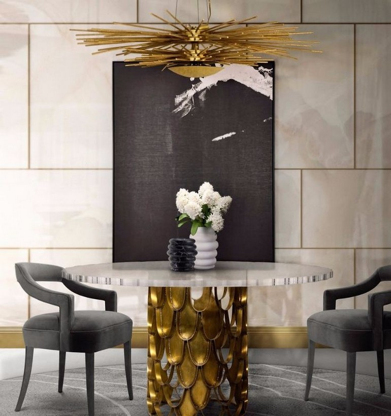 Dining room ideas dining room ideas Top 10 Dining Room Ideas For Your Interior Design Project KOI II DINING TABLE 2