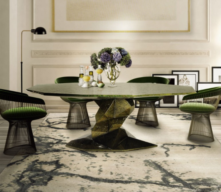 Get New Ideas at Luxury Design & Craftsmanship Summit 2018 Craftsmanship Get New Ideas at Luxury Design and Craftsmanship Summit 2018 How to place a rug with a round dining table