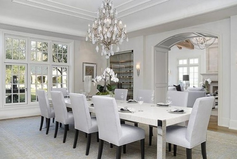 10 Hottest Dining Room Tips from Social Media dining room ideas 10 Hottest Dining Room Ideas from Social Media Top 10 Celebrity Dining Rooms For You To Inspire Your Dining Room 3