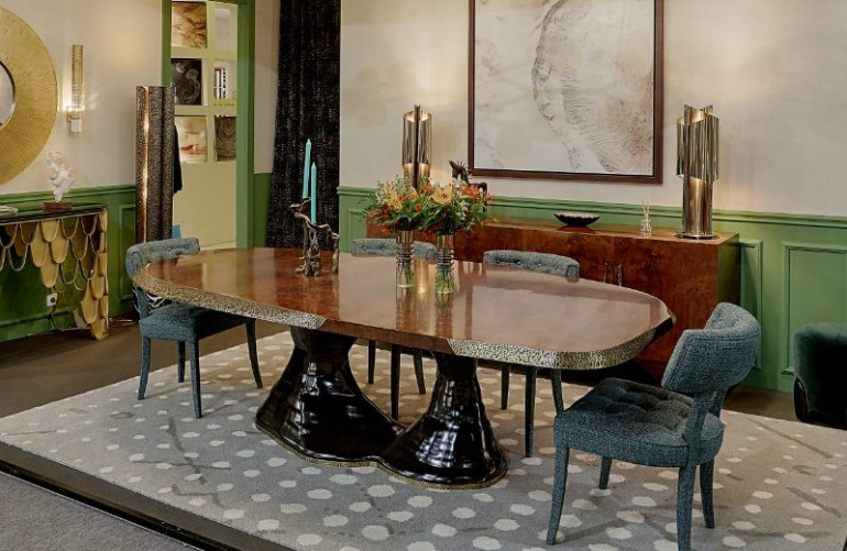 Get New Ideas at Luxury Design and Craftsmanship Summit 2018 Craftsmanship Get New Ideas at Luxury Design and Craftsmanship Summit 2018 plateau dining table edition