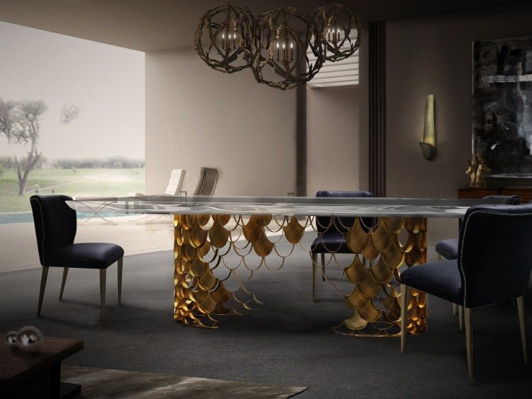 KOI II Dining Table dining room Finest Dining Rooms from Brabbu That Will Change Your Life Finest dining room furniture from BRABBU 7