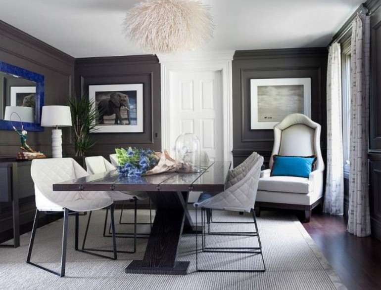 Latest Trend Colors for Modern Dining Room in 2019 ...