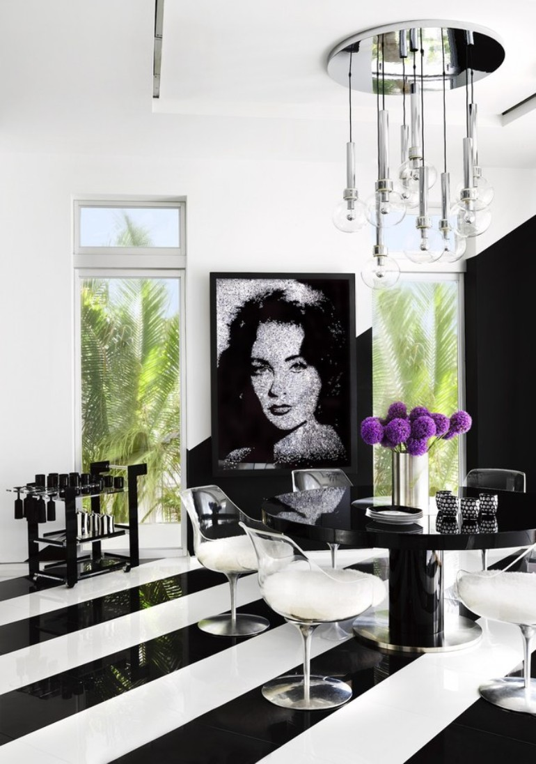 5 of The Best Designers And Their Projects interior designers 5 of The Best Interior Designers And Their Projects martyn lawrence bullard tommy hilfiger dining room beachhouse at miami