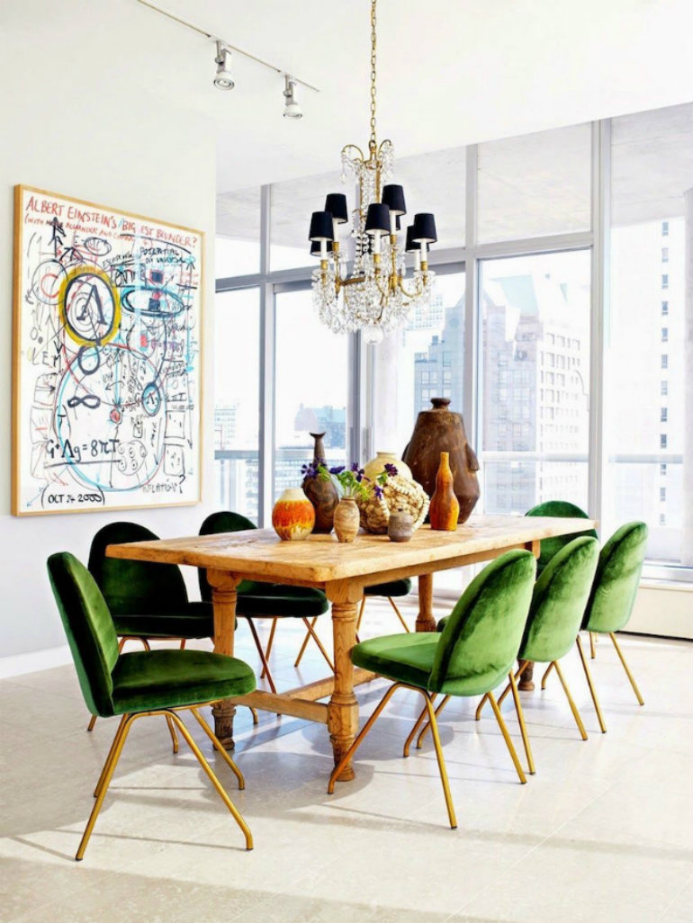 The Right Dining Chairs for Exquisite Dining Rooms dining chairs The Right Dining Chairs for Exquisite Dining Rooms dining room decorating ideas by nate berkus 6 1