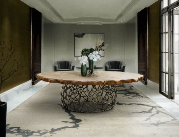 10 Astonishing Wood Dining Rooms Modern Dining Room Table (2)