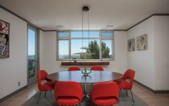 Modern Dining Room Fill your Modern Dining Room with Fabulous Red Chairs Fill your Dining Area with Colors Red Chair Inspiration 5 240x150