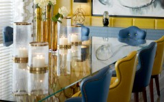 dining room chairs Top 5: Elegant Blue Dining Room Chairs blue dining room chairs 240x150