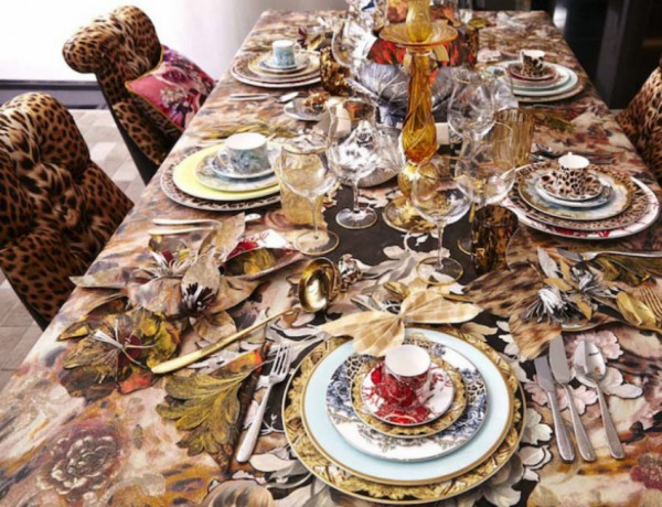 Luxury Dining Room Ideas by Roberto Cavalli