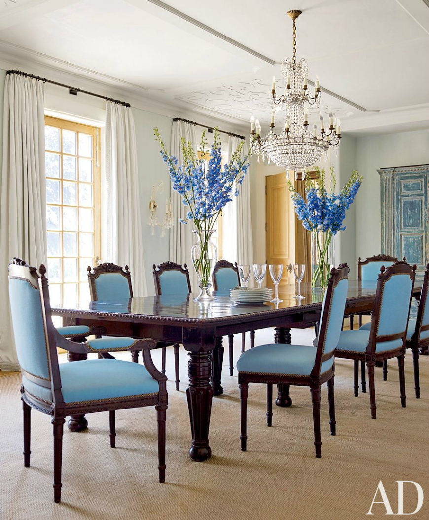 blue dining room ideas 25 dreamy ideas to add blue to your dining room decor 16452