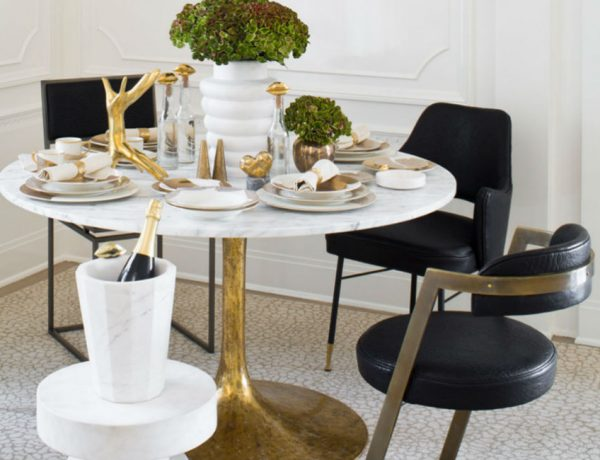 The Most Sophisticated Dining Room Furniture By Kelly Wearstler
