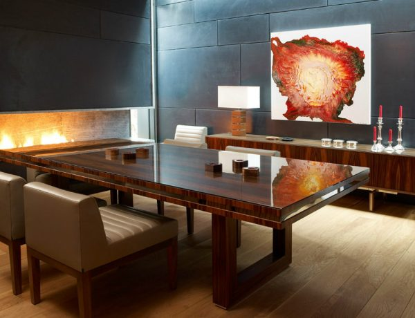 The Most Beautiful Dining Room Decoration Ideas by David Linley