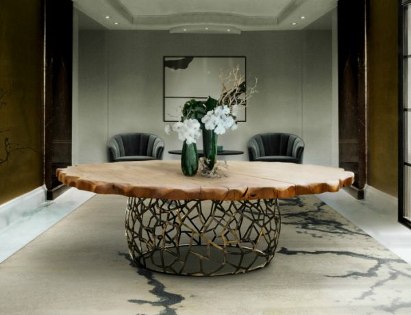 10 Sleek Wooden Dining Table Ideas That You Will Covet