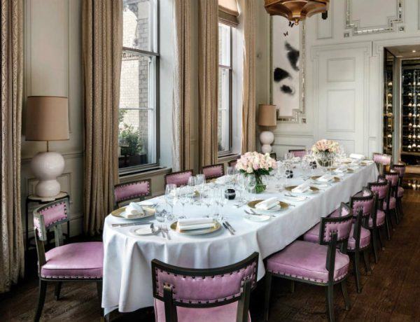 dining room ideas Sophisticated dining room ideas by David Collins Studio to inspire you Sophisticated dining room ideas by David Collins Studio 5 600x460