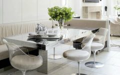 The Most Dazzling Mirrored Dining Room Table Ideas That You Will Covet