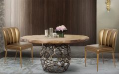 10 Dining Room Sets With Smashing Gold Appointments