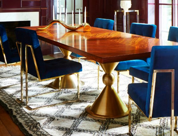 6 Astonishing Dining Room Table Designs By Jonathan Adler