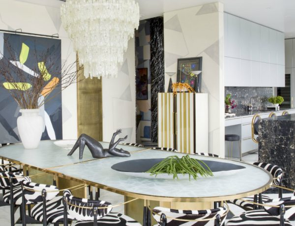 7 Striking Dining Room Ideas By Kelly Wearstler That You Will Love
