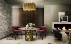 How To Style A Chic Modern Dining Room In A Living Area