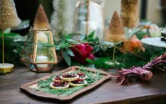 How To Decorate Your Dining Room Table This Christmas dining room table How To Decorate Your Dining Room Table This Christmas christmas table decorations copper tray 1 240x150