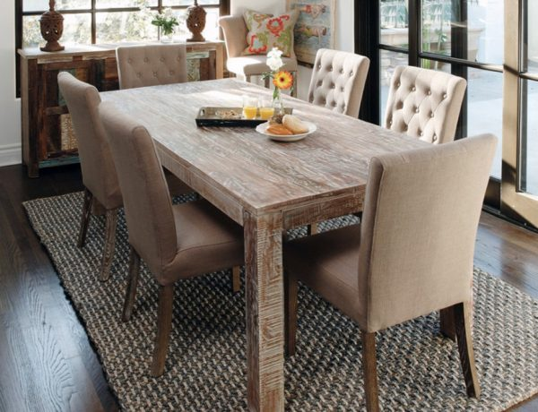 wooden dining tables 8 Wooden Dining Tables For A Rustic Yet Chic Room feat32 600x460