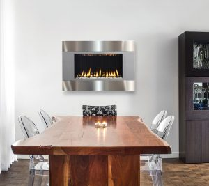 dining room Inspiration: Fabulous Dining Room Ideas Dining room with fireplace 300x267