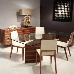 dining room Inspiration: Fabulous Dining Room Ideas wooden dining room updated 300x300